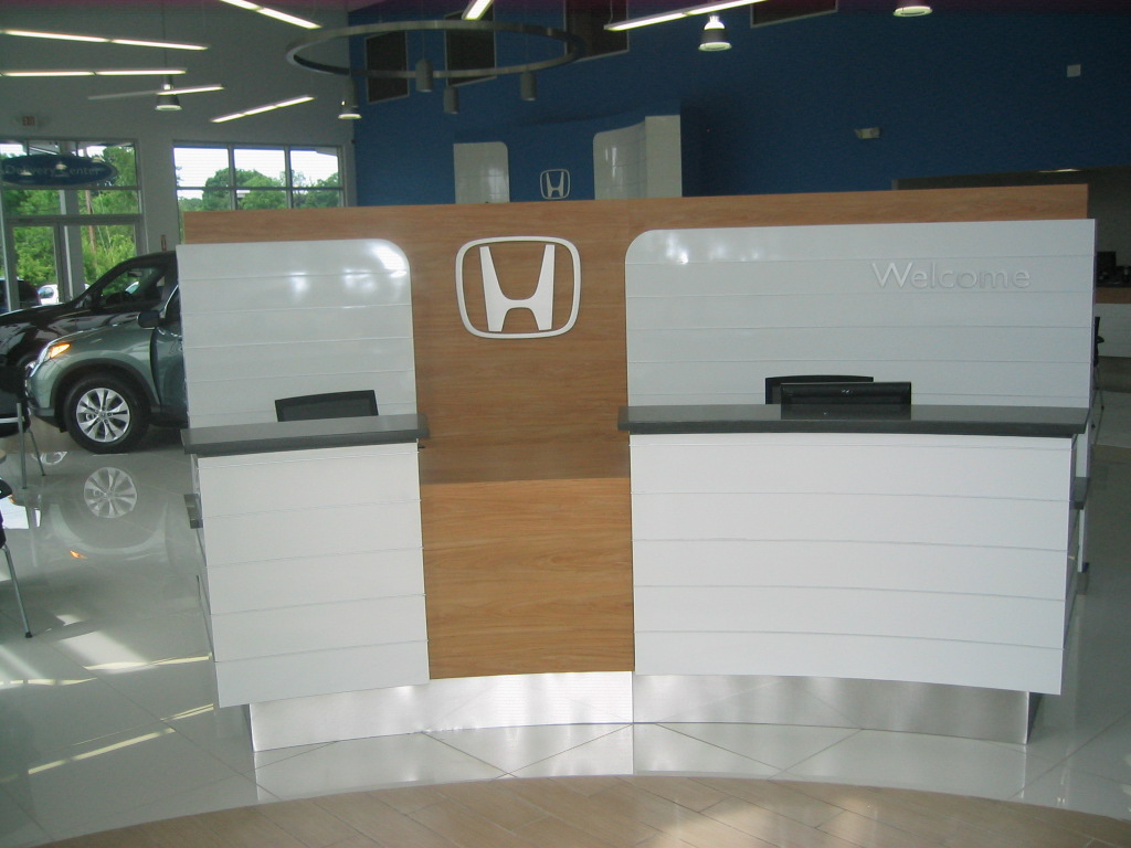 Gen 3 Reception Desk